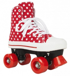 Patins Completos ROOKIE Canvas High Polka Dots