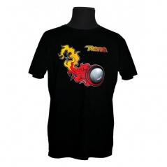 T-shirt em Algodão RENO Fireball