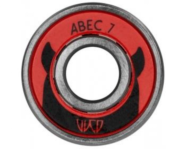 Rolamentos WICKED ABEC 7 - Pack tube 16 unidades - 8mm