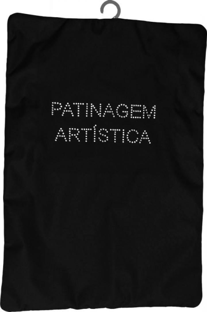 Porta-Fatos Patinagem Artística - Preto