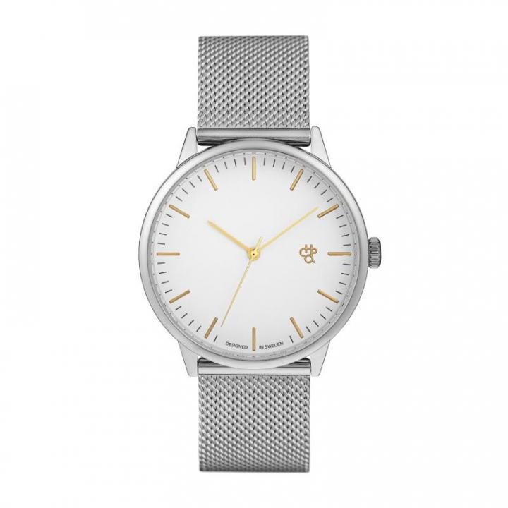 Relógio 14232ZZ Nando Silver & Gold