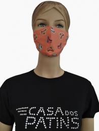 Máscara com desenhos
